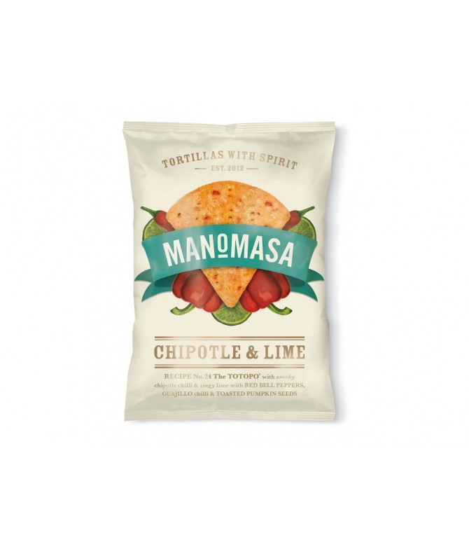 TORTILLA CHIPS CHILI CHIPOTLE & LIMA