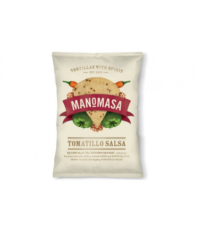 TORTILLA CHIPS SALSA TOMATILLO